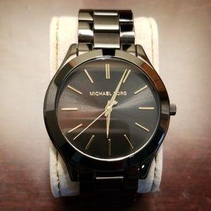 Black Michael Kors men's watch